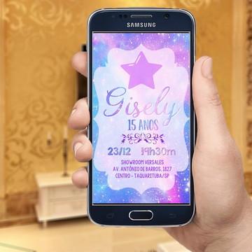Galáxia Galaxy - Convite digital