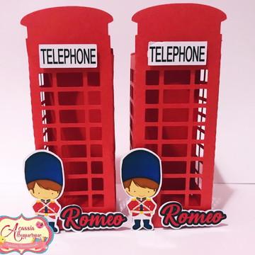 Cabine Telefônica Soldadinho de Chumbo
