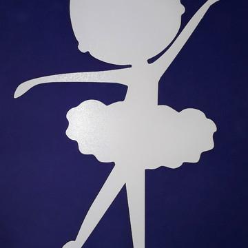 Painel de Bailarina em mdf branco