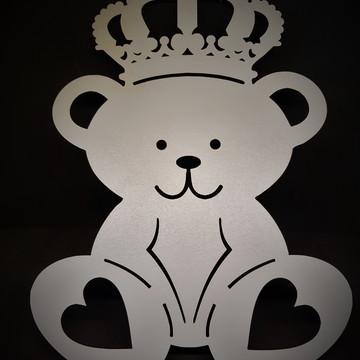 Painel de Urso em mdf branco