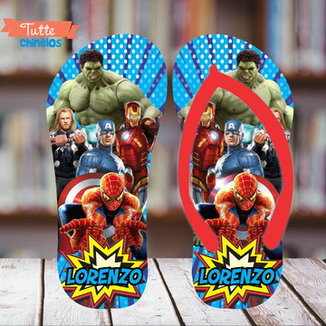 Chinelo Super Herois