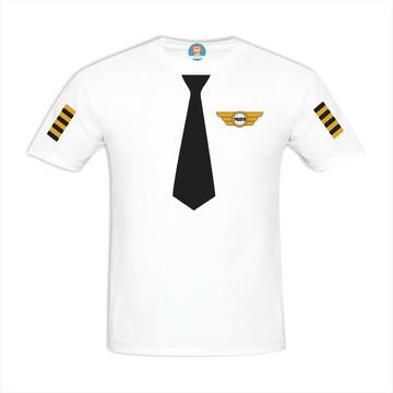 Camiseta de Adulto Piloto de Avião - Aviador