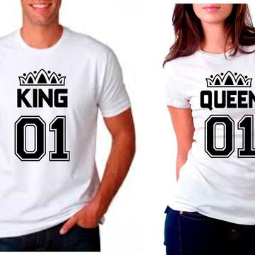 kit camisetas namorados