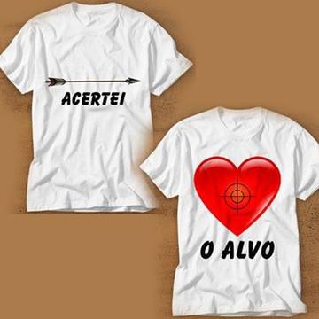 camiseta namorados