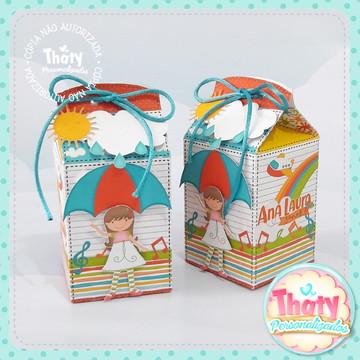 Caixa Milk - Aquarela