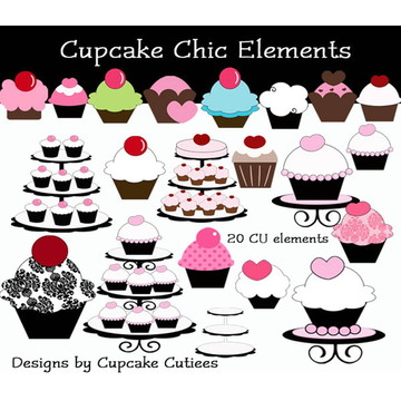 Kit Digital - Cupcakes, Bolos e Doces 8