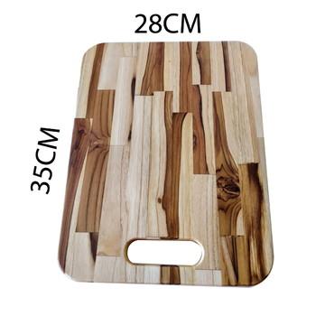 Tabua de corte para cozinha madeira teca