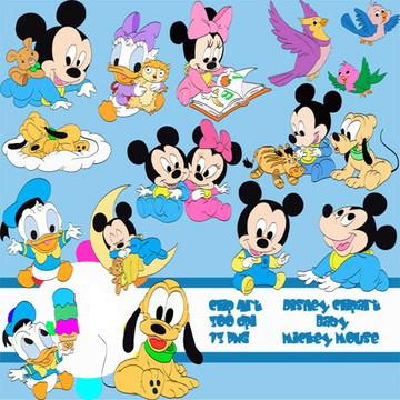Cliparts Turma do Mickey AAN 07
