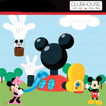 Cliparts Mickey BOO 01