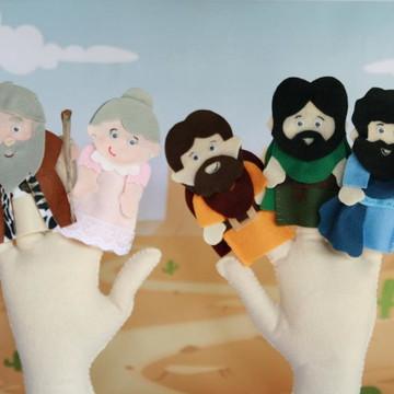 Dedoches Biblicos - A historia Noé e sua familia