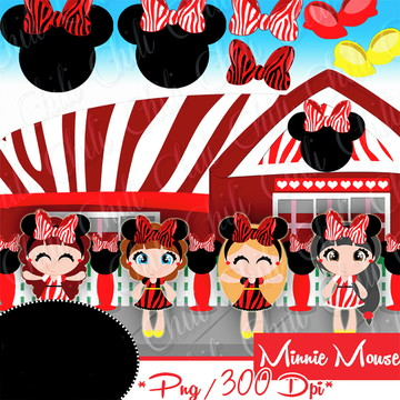 Cliparts Minnie CHILI 22