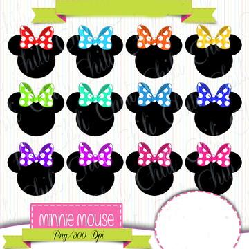 Cliparts Minnie CHILI 24