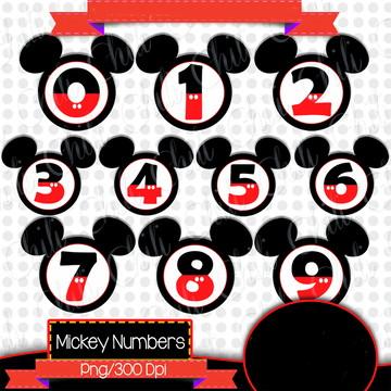 Cliparts Mickey CHILI 25
