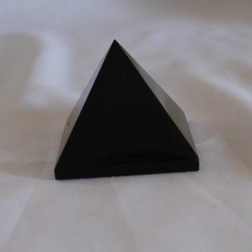 Pirâmide Obsidiana Negra 270 grama