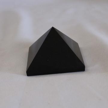 Pirâmide Obsidiana Negra 245 grama