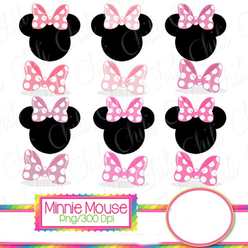 Cliparts Minnie CHILI 42