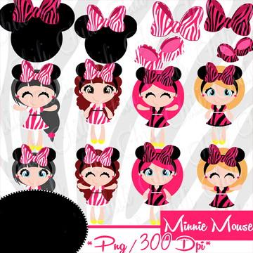 Cliparts Minnie CHILI 52