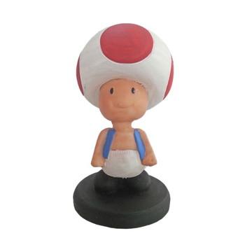 Toad Cogumelo Super Mario Bros feito em Resina