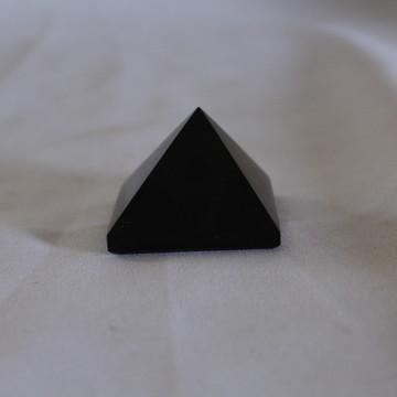 Pirâmide Obsidiana Negra 80 grama