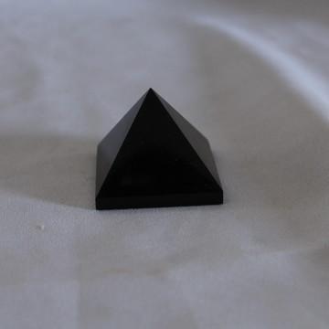 Pirâmide Obsidiana Negra 90 grama