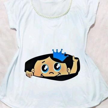Camiseta Gestante Mãe de Príncipe