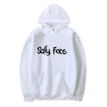 d9fccd08b9 Blusa Moletom Canguru Sally Face Kpop Music Branco
