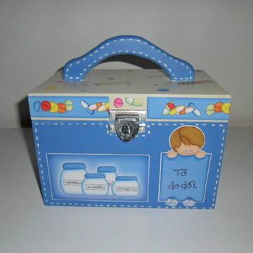 caixa de medicamentos (venido)