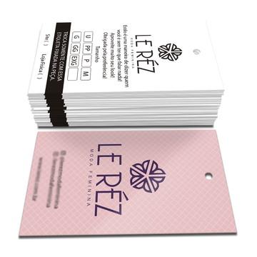 4e071fa56 1000 Tags Personalizadas Etiquetas para Roupas e Brindes