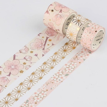 Kit com 3 washi tapes