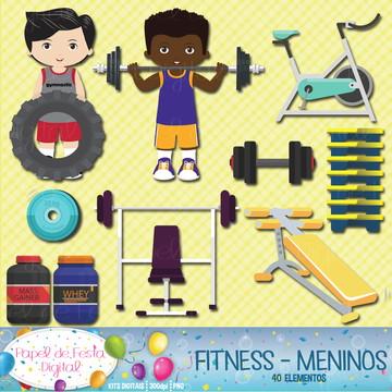 Kit Digital Fitness Meninos