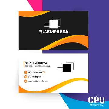 Cartões De Visitas, Verniz Localizado, 300g, 4x4.