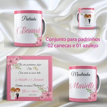 Kit para Padrinhos de Casamento