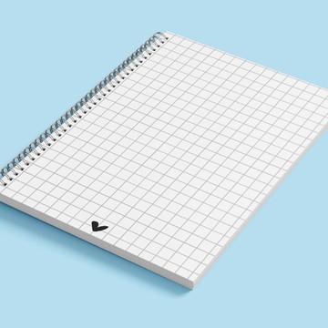 bullet journal caderno universitario kit 5 unidades