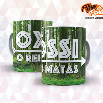 Caneca Oxóssi 10