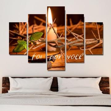 quadro decorativo 115x60 foi por voçê sala quarto mdf6mm