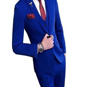 e9745728ea Kit Terno Masculino Slim Camisa Social Sapato