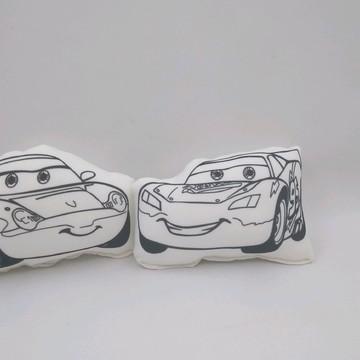 Relâmpago McQueen e Sally Carrera Pintar Lavar Pintar