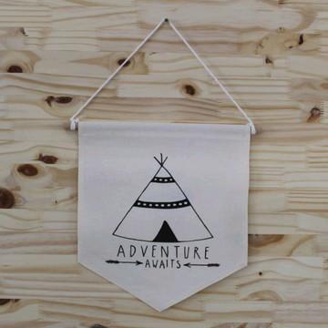 "Flâmula ""Tenda Adventure"""