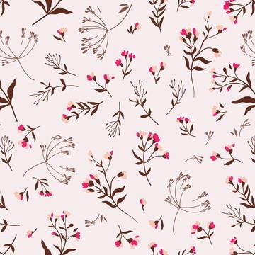 Papel Parede Galhos Flores Floral Sala Adesivo 3m PPF139
