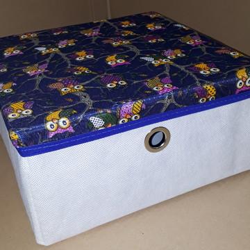 Caixa Organizadora c/ tampa 28x14x28 cm com alça ou ilhós