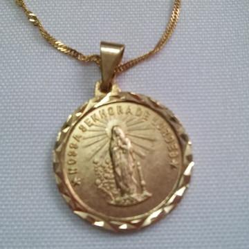 Pingente Nossa Senhora de Lourdes