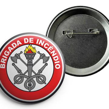Botton Brigada Alfinete Modelo 01 - 38mm