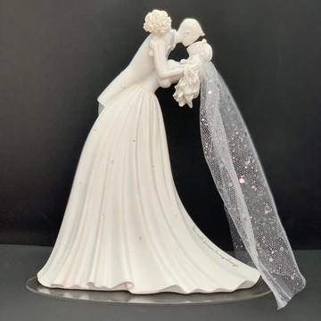 Topo De Bolo Casamento Gina Forever After Original