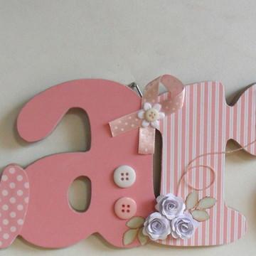 Porta maternidade Lara mini rosas