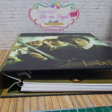 Planner Fichario Harry Potter