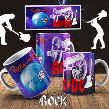 CANECA ROCK IN RIO AC/DC