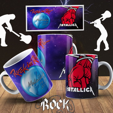 CANECA ROCK IN RIO METALLICA