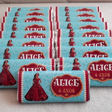 Barrinhas de Chocolate Personalizada da Helena de Avalor