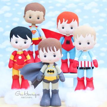 """Curso """"Heróis Kids"""" - Feltro"""