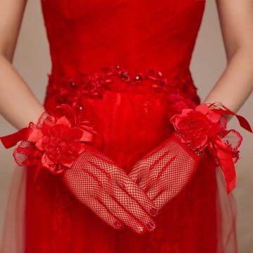 Luvas para Noiva Luxo ref 20